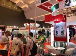 Kidd+Zigrino's showcased at Indo Intertex 2018 exhibition which took place from 4-7 April 2018