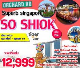 ทัวร์สิงคโปร์ : SINGAPORE SO SHIOK 3D2N (TR)