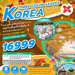 ทัวร์เกาหลี : KOREA THREE COLOUR LEAVES 5D3N (XJ)
