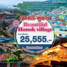ทัวร์เกาหลี : เกาหลี-พูซาน Beautiful Hanok village