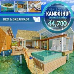 ทัวร์มัลดีฟส์ : Kandolhu Maldives ไม่รวมตั๋ว