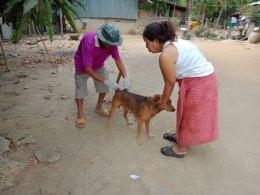 โครงการสัตว์ปลอดโรค   คนปลอดภัยจากโรคพิษสุนัขบ้า ประจำปีงบประมาณ 2563