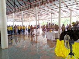 การมอบถุงยังชีพพระราชทาน มูลนิธิราชประชานุเคราะห์ในพระบรมราชูปถัมภ์