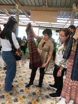 โครงการยกระดับการตลาดผลิตภัณฑ์ผ้าไหมสู่แหล่งท่องเที่ยว