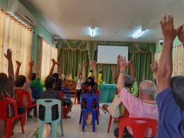 โครงการพัฒนาและสร้างเสริมศักยภาพกลุ่มคนพิการด้วย 3อ3ส ประจำปีงบประมาณ 2563 (สนับสนุนโดยกองทุนหลักประกันสุขภาพตำบลทุ่งใหญ่)