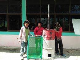 กิจกรรมโครงการการกำจัดขยะมูลฝอย วันที่18-19พค.61