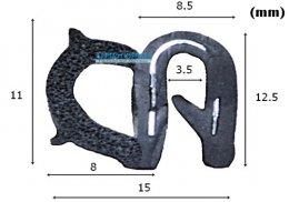 ซีลยางกระดูกงู RW-EP-015