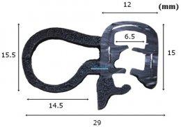 ซีลยางกระดูกงู RW-EP-001