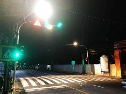 ไฟสัญญาณจราจร ไฟสัญญาณเตือนคนข้ามถนน