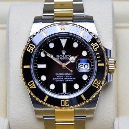 Rolex Submarin 2Tone Black Dial