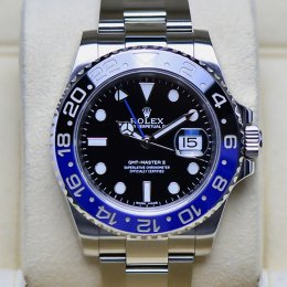 Rolex GMT MasterII Blue Black (Batman)