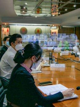 ประชุมกองบรรณาธิการจีน การจัดทำวารสารการแพทย์แผนจีนในประเทศไทย
