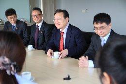 ต้อนรับคณะผู้บริหารจาก Shanghai U. of TCM