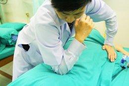 การนวดรักษาโรคด้วยการทุยหนา (Tuina)