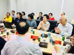 ต้อนรับคณะทำงานฝ่ายไทยและฝ่ายจีน ในโครงการแปรรูปสมุนไพร ไทย - จีน