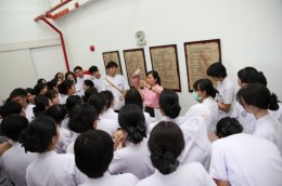 ต้อนรับคณะจากสถานการแพทย์แผนไทยประยุกต์ คณะแพทยศาสตร์ศิริราชพยาบาล