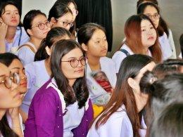ต้อนรับอาจารย์และนศ.คณะการแพทย์แผนจีน ปี 5 ม.หัวเฉียวเฉลิมพระเกียรติ
