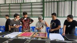 Silk Screen Workshop by TINPA