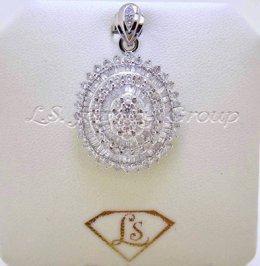 Review จี้เพชรแฟนซี (Fancy and Heart&Arrow diamond pendant)