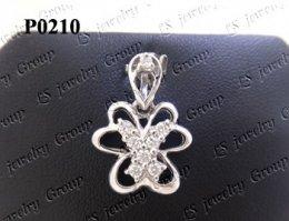 จี้เพชร (Diamond Pendant) เพชร Heart & Arrow - Russian Cut Finest Diamonds