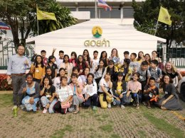 Social Activity with Peacework and Kids from Wat Huay Pla Kang