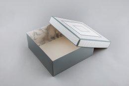 กล่องกระดาษแข็งแบบฝาครอบไม่เต็มใบ