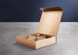 กล่อง Shallow-ฝาแม่เหล็ก-หุ้มด้วยกระดาษพิเศษ-พิมพ์ลาย (บรรจุได้ 4/9 ชิ้น) รหัส P-S21