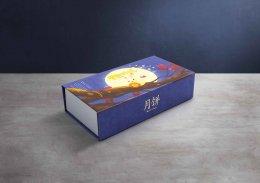 กล่อง Shallow-ฝาแม่เหล็ก-พิมพ์ลาย (บรรจุได้ 3 ชิ้นเล็ก) รหัส P-S23
