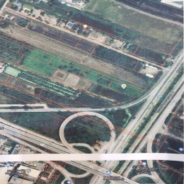 ขายที่ดิน ติดริมถนนวงแหวนกาญจนาภิเษก อำเภอลาดหลุมแก้ว ID -  192512
