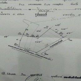 ที่ดินถมแล้ว 10 ไร่ แก่งคอย สระบุรี (Land reclamation, 10 rai, Kaeng Khoi, Saraburi) ID - 192281