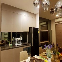 For Sale Condo The Room Sukhumvit 69 @BTS Phra Khanong, 44.56 sq.m 1 Bed 11th floor Clear View, Fully furnished ID - 192477