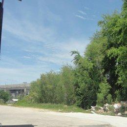 ที่ดินเปล่าให้เช่า ใกล้สนามบิน ติดบางนา-ตราด กม.42 ให้เช่าระยะยาว (Vacant land for rent near the airport, next to Bangna-Trad Km. 42 for long term rental) ID - 192283