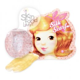 Etude House Silk Scarf Double Care Hair Mask 2 Step