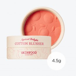 รอสินค้าเข้า-Skinfood Apricot Delight Cotton Blusher 4.5g