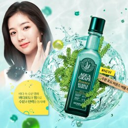 Pre Order-Skinfood Aqua Grape Bounce Bubble Serum 120ml 수분포도바운스버블세럼