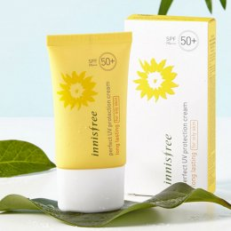 Pre Order-Perfect UV protection cream long lasting SPF50+ PA+++ for oily skin 50ml