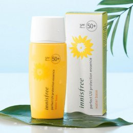 Pre Order-Innisfree Perfect UV protection essence water base SPF50+ PA+++ 50ml
