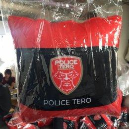 ผลงานการผลิตหมอนผ้าห่ม ของสโมสรฟุตบอลโปลิศ เทโร