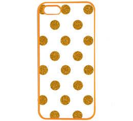 Case iPhone5 และ iPhone5s Polkadot Plastic ลายจุด