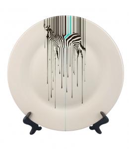 จานพิมพ์ Zebra Dish&Plate