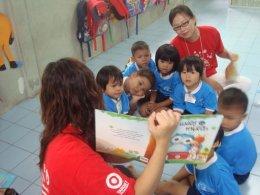 โครงการส่งเสริมการเรียนรู้หนังสือและความรับผิดชอบต่อสังคม (CSR)