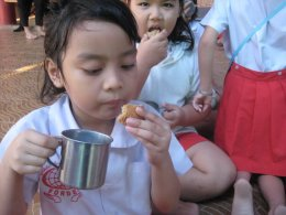 กิจกรรม นม...เพื่อน้องที่ร้องหิว