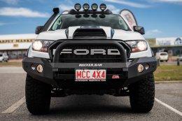 Ford Ranger MK2 - MCC078-01 Rocker Bar Single Black Loop
