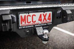 Isuzu D- Max - MCC022-01 Rocker Rear Bar