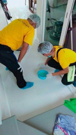 บริการปลอดเชื้อที่มีคุณภาพสูงสุด Big Cleaning + ฉีดพ่นฆ่าเชื้อโรค