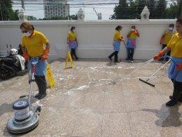 Big Cleaning เพื่อสังคม ร่วมสร้างกุศลล้างห้องน้ำวัด ณ วัดศรีเอี่ยม