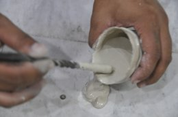 งานยก ปรับระดับพื้นคอนกรีตในอาคารพาณิชย์ กรุงเทพ
