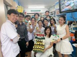 กิจกรรมเทรนเพิ่มเติมความรู้เกี่ยวกับผลิตภัณฑ์เสริมอาหารให้กับน้องๆนักศึกษาฝึกงาน