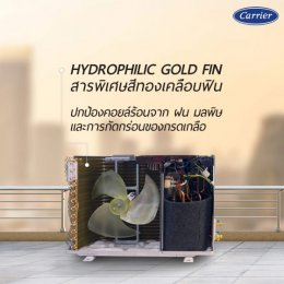 Hydrophilic gold finเคล็ด(ไม่)ลับ เบื้องหลังของความทนทาน