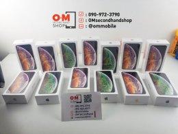 iphoneXSmax 256gb ศูนย์ไทย ใหม่มือ1 เพียง 38900.-